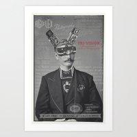Mr Tri-Vision Art Print