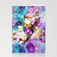 lost Stationery Cards featuring Happy Colors by Joke Vermeer