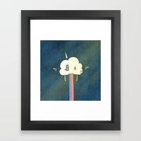 Rainbug Framed Art Print