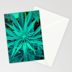 Twisted Frosty Weed Stationery Cards