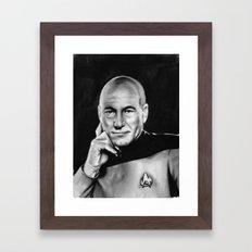 picard Framed Art Print