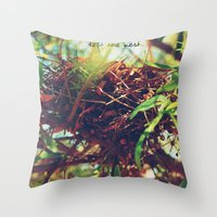 Nest Throw Pillow
