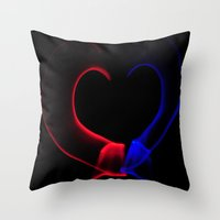 Heart of Light Throw Pillow