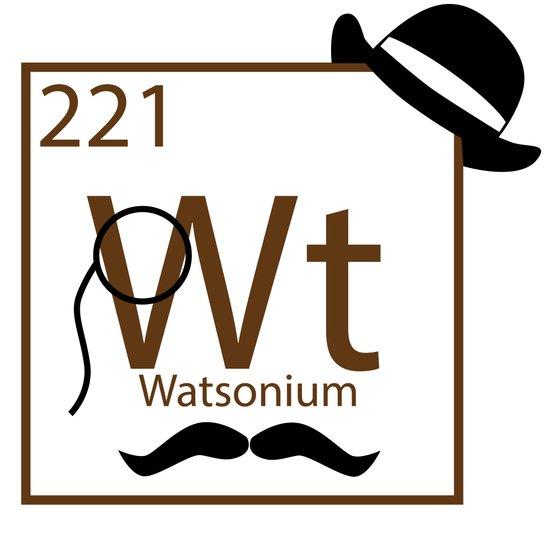 My Dear Watson is Elementary Art Print
