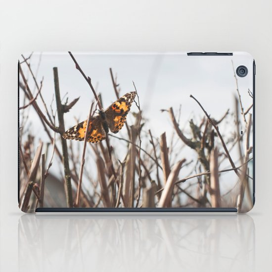 painted lady iPad Case
