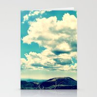 Costa Rican Clouds Stationery Cards