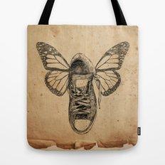 Flying sneakers Tote Bag