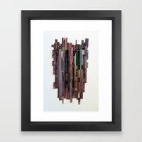 Conveyor Belt Framed Art Print