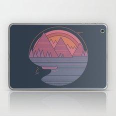 The Mountains Are Callin… Laptop & iPad Skin