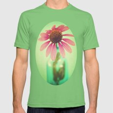 The Coneflowers II  Mens Fitted Tee Grass SMALL