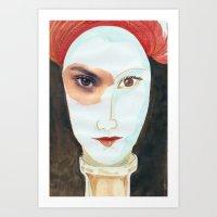 FRÁGIL Art Print