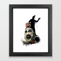 Captain Spaulding: Monst… Framed Art Print