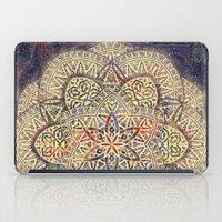 Gold Morocco Lace Mandala iPad Case