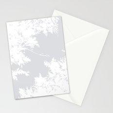 Night's Sky Grey Stationery Cards