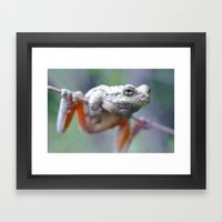 The Acrobat Framed Art Print