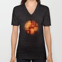 Textures/Abstract 103 Unisex V-Neck