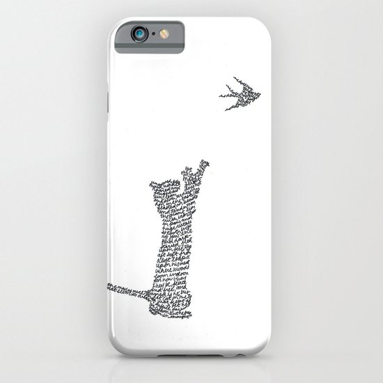 Cat and Bird iPhone & iPod Case