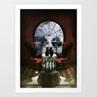 Room Skull Art Print