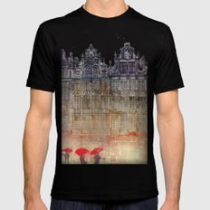 Brussels SMALL Mens Fitted Tee Black