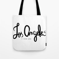 Los Angeles I Love You  Tote Bag