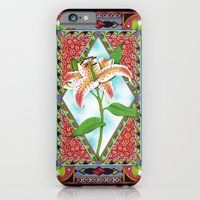 iPhone & iPod Case featuring Gilding the Lily by Patricia Shea Designs