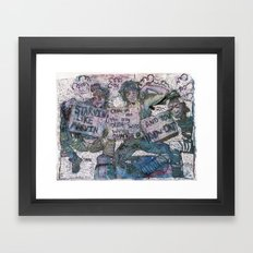 United States of Whatever Framed Art Print