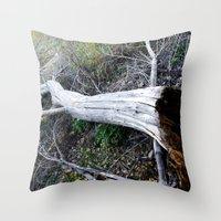 The Rot From Within Throw Pillow