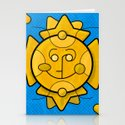 Taxco - gold Stationery Cards