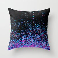 Infinity In Blue And Pur… Throw Pillow