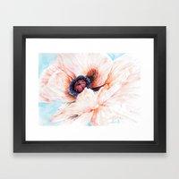 Oriental Poppy Framed Art Print