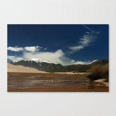 Mount Herard View Canvas Print
