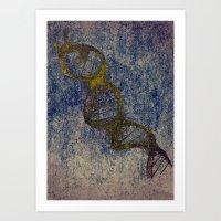 Helix Art Print