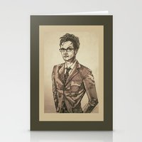 The Doctor Is In. Stationery Cards