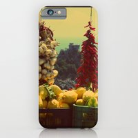 iPhone & iPod Case featuring Garlic, Peppers & Lemons in Amalfi, Italy by shari hochberg