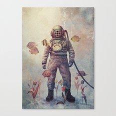 Deep Sea Garden - colour option Canvas Print