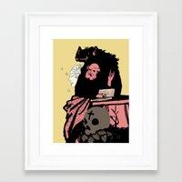 Black Magic #2 Framed Art Print