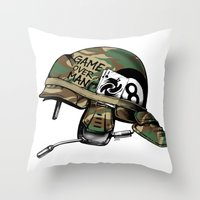 Game Over, Man! Throw Pillow