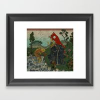 Haunt For Little Blind F… Framed Art Print