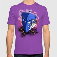 Dr Whorrible's Revenge! Mens Fitted Tee Ultraviolet SMALL