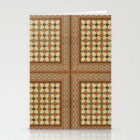 Textile Pattern 1 Stationery Cards