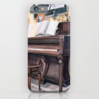 iPhone & iPod Case featuring Piano by Ashley Jones