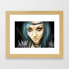 Unstoppable: A Vampiric Warrior  Framed Art Print