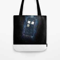 Totally And Radically Driving In Space Tote Bag