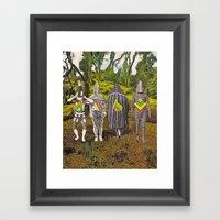 New Lands Framed Art Print