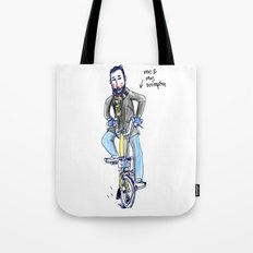 Me and My Brompton Tote Bag