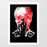 Rebel From Hell #1 Art Print