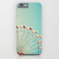 I Don't Want Love, Ferris Wheel on Blue Sky iPhone 6 Slim Case