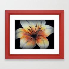 Tigerlily - Painting Framed Art Print