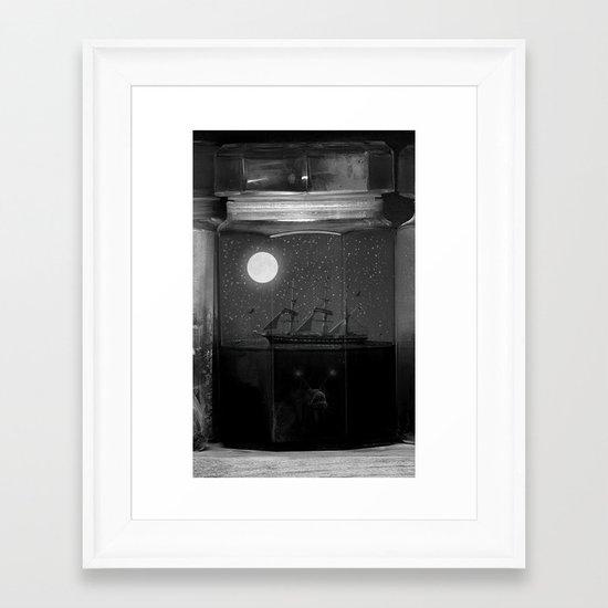 Little Worlds (Crop II) Framed Art Print