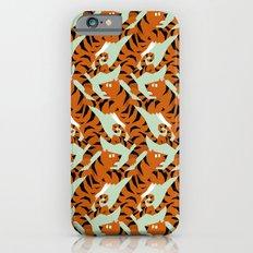 Tiger Conga pattern iPhone 6 Slim Case